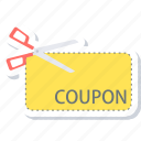 coupon, discount, offer, sale, tag icon