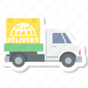 delivery, cargo, shipping, truck