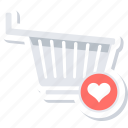 add to wishlist, bookmark, favorite, favorites, favourite, trolley, wishlist icon