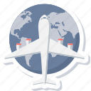 delivery, international, transportation, first flight, shipping