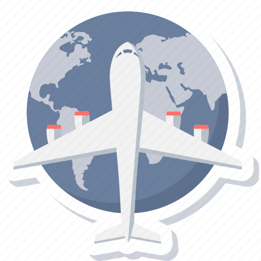 delivery, first flight, international, shipping, transportation icon