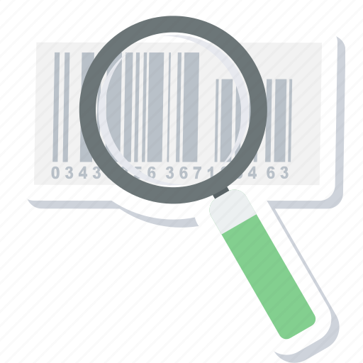 barcode, code, product, scan, scanning icon