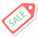 discount, label, offer, sale, shopping, tag icon