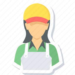 assistant, female, girl, help, sales, salesgirl icon