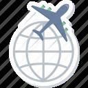 delivery, international, air, shipping, transport, transportation