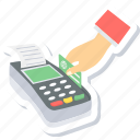 billing, buy, card payment, machine, method, payment, swipe card icon