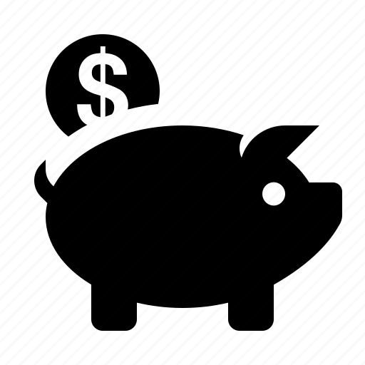 bank, business, coin, ecommerce, piggy, savings, shopping icon