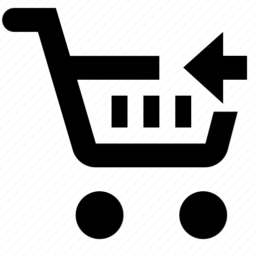 basket, business, cart, ecommerce, previous, shopping icon