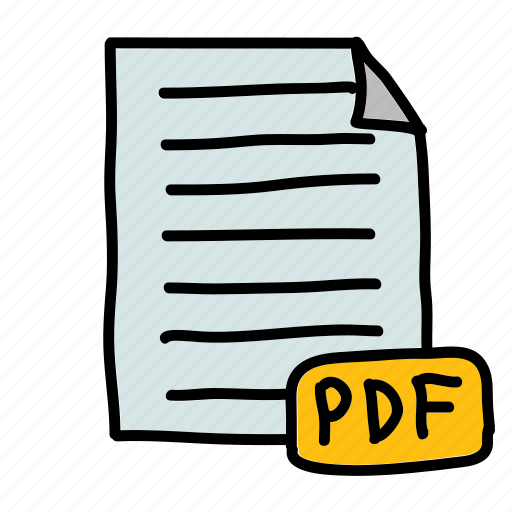 bill, file, invoice, pdf icon