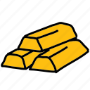 gold, golden, shopping, value icon