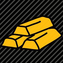 gold, golden, shopping, value icon