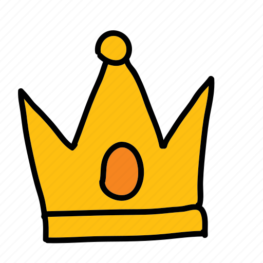 crown, king, victory icon