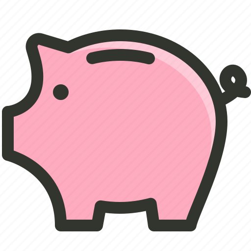 bank, budget, piggy, saving icon