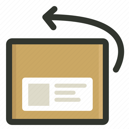 package, return, shipping icon