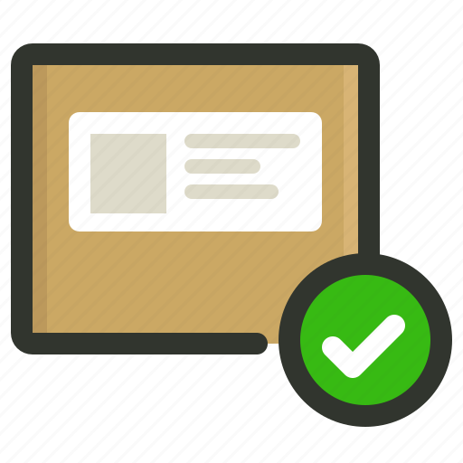 package, shipping icon