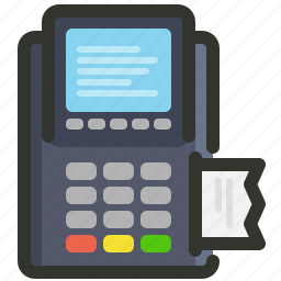 card, credit, machine, payment icon