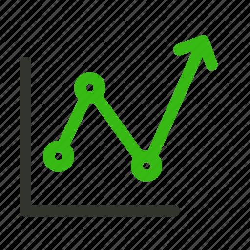 finance, growth, profit icon