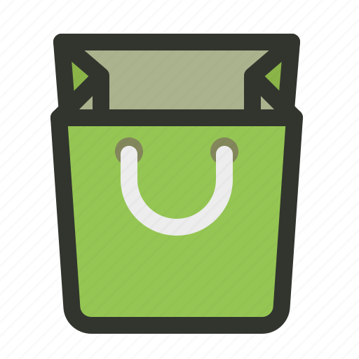 bag, container, paper, shopping icon