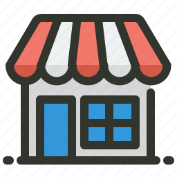 ecommerce, groceries, online, store icon