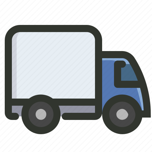 delivery, shipping, transport, truck icon