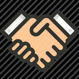 deal, handshake, partner, trust icon
