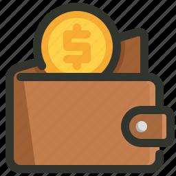 coin, money, wallet icon