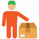 courier, delivery, parcel icon