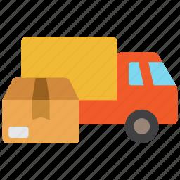 shipping, transport, transportation, truck icon