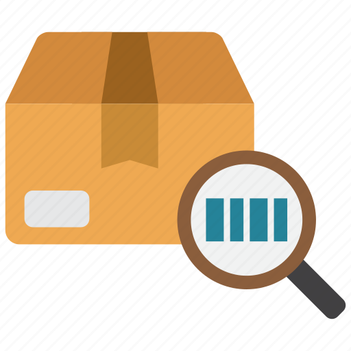 barcode, cargo, number, tracking icon