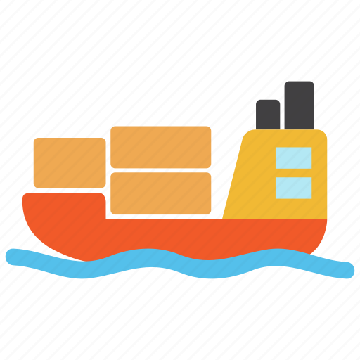 cargo, shipment, vessel icon