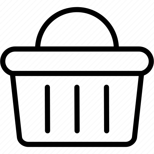 basket, buy, cart, ecommerce, groceries, shop, shopping icon