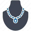 jewelry, necklace, showcase icon