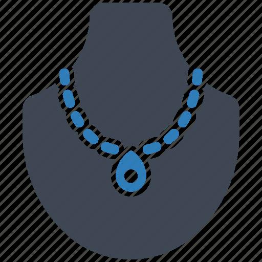 jewelry, necklace, showcase icon
