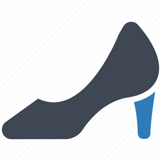 heel, shoes, woman icon