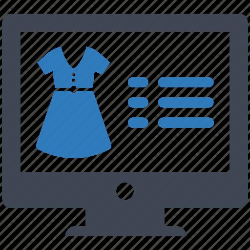 ecommerce, online, shopping icon