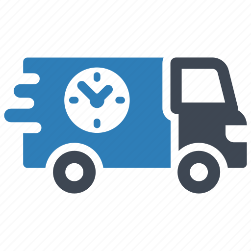 deadline, delivery, shipping icon