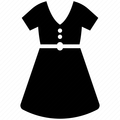 clothing, dress, woman icon