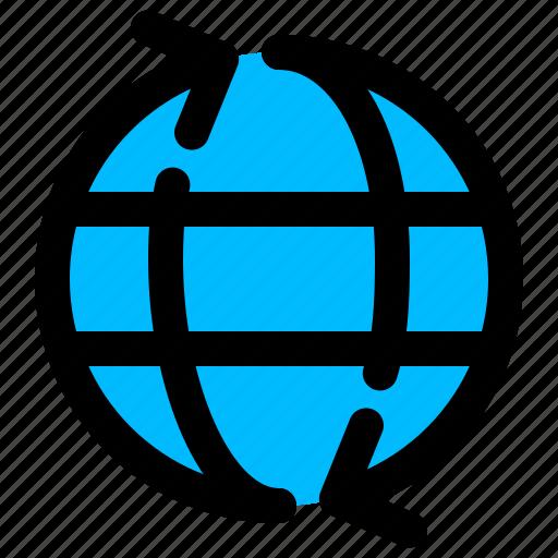 global, logistics, shipping, transportation, worldwide icon