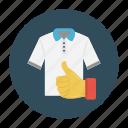 cloth, feedback, like, shirt, shopping icon