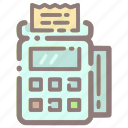 banking, card, credit, ecommerce, machine, payment, shopping icon