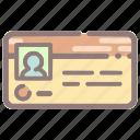 identification, member, member card, membership, profile, user, vard