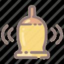 alarm, alert, bell, message, notification, ring