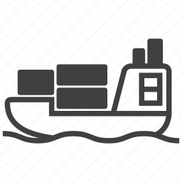 shipping, transport, vessel icon