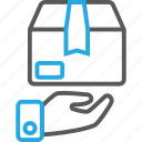 delivery, parcel, shipping icon