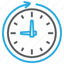 process, processing, time icon