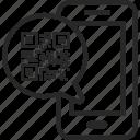 barcode, code, digital, mobile, phone, qr, scan