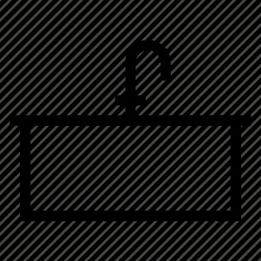 Bathroom, kitchensink, sink, tap, toilet, wash, water icon - Download on Iconfinder