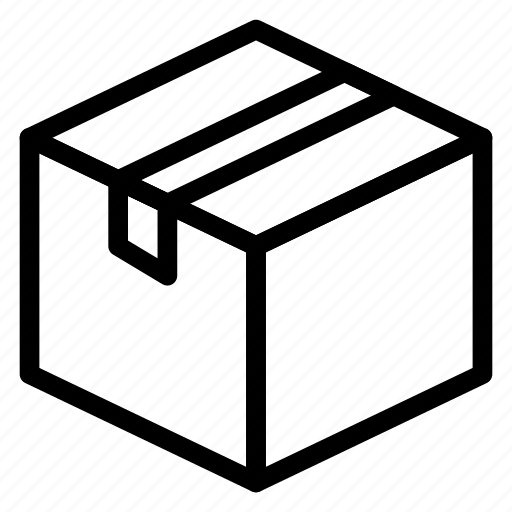 Box, delivery, gift, package, packing, parcel, shipping icon - Download on Iconfinder
