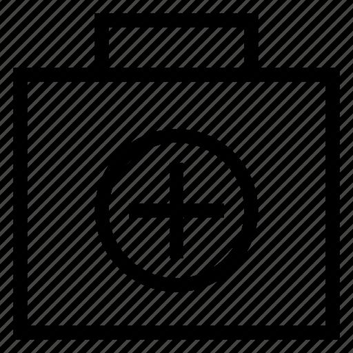 Bag, breifcase, briefcase, case, medical, portfolio, study icon - Download on Iconfinder
