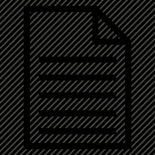 Checklist, document, list, listening, paper, shoppinglist, todolist icon - Download on Iconfinder